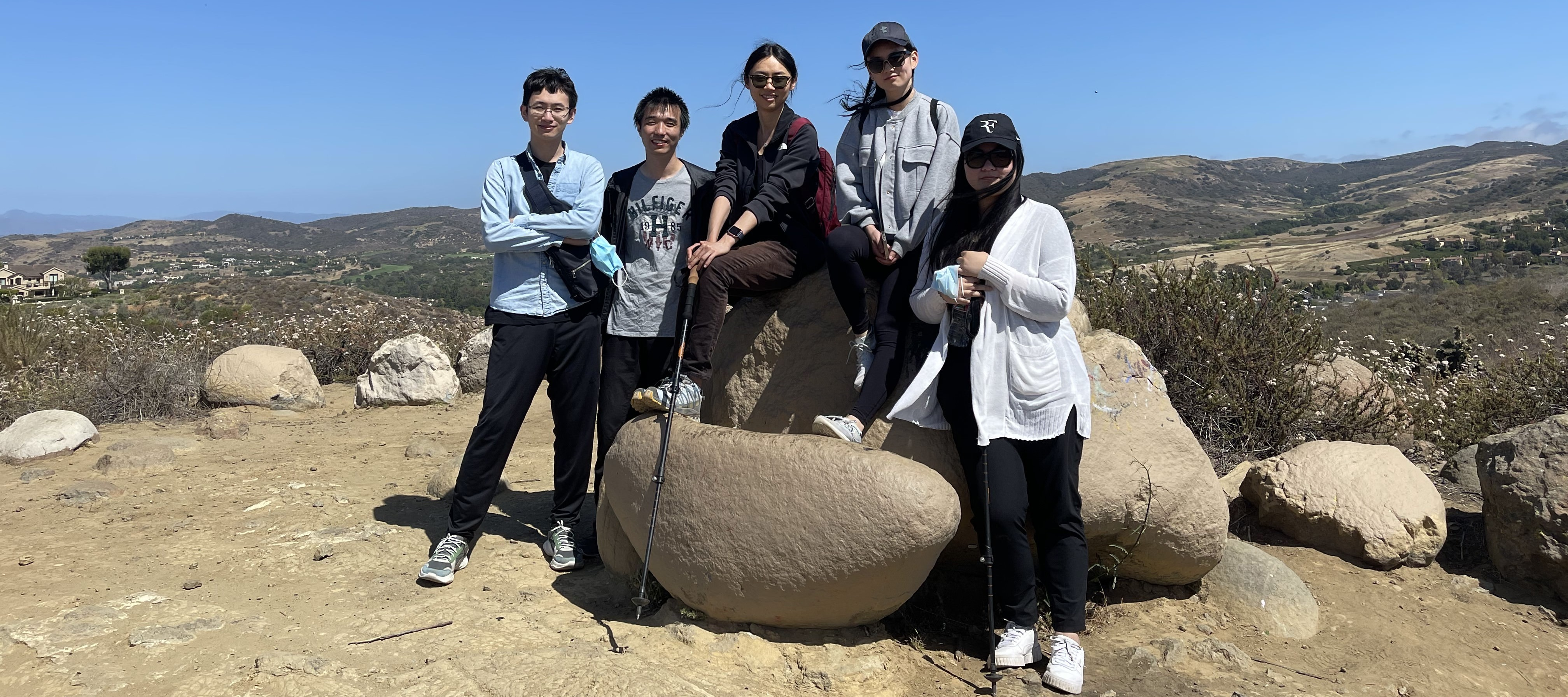 Hiking at Turtle Rock, Irvine (May 2021)